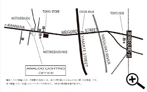 ANALOG LIGHTING OFFICE 周辺地図